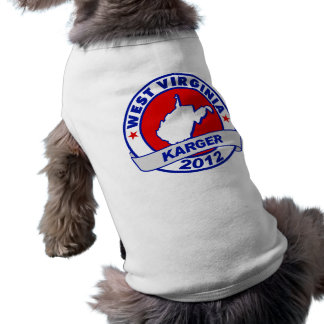 West Virginia Fred Karger Pet Clothes