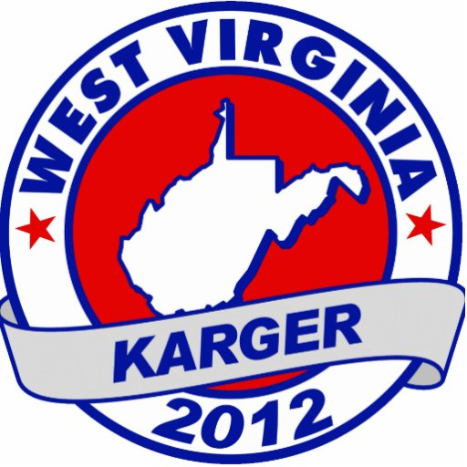 West Virginia Fred Karger Photo Cut Outs