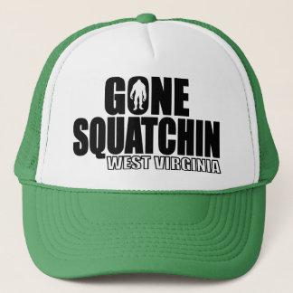 WEST VIRGINIA Gone Squatchin - Original Bobo Trucker Hat