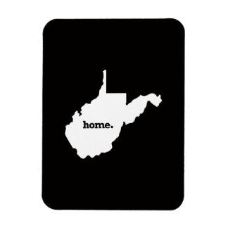 West Virginia Home Rectangular Photo Magnet