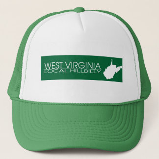 West Virginia Local Hillbilly, Marshall Colors Trucker Hat