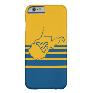 West Virginia Logo in State Barely There iPhone 6 Case
