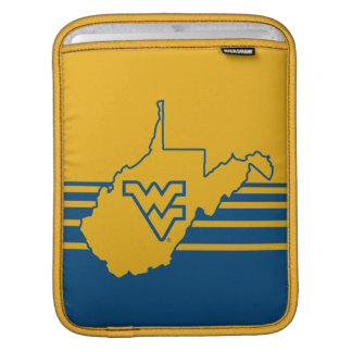 West Virginia Logo in State Sleeves For iPads