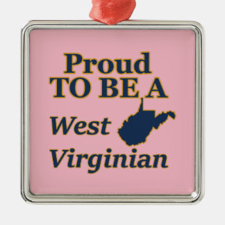 West Virginia, Proud to be a West Virginian Christmas Ornament