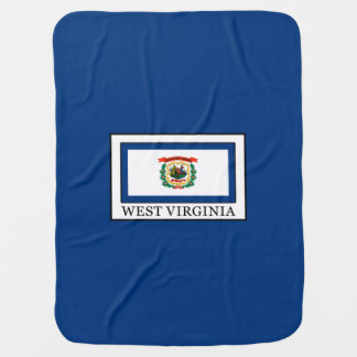West Virginia Receiving Blankets