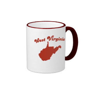 WEST VIRGINIA Red State Mugs
