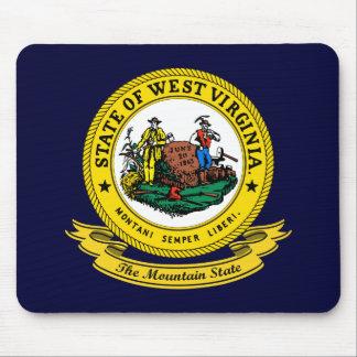 West Virginia Seal Mouse Mat