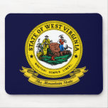 West Virginia Seal Mouse Pad