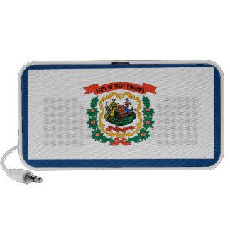 West Virginia State Flag iPod Speaker