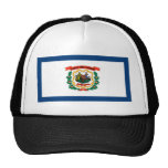 West Virginia State Flag Trucker Hat
