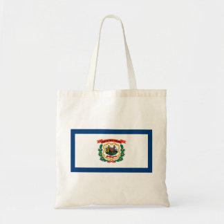 west virginia state flag united america republic s tote bag
