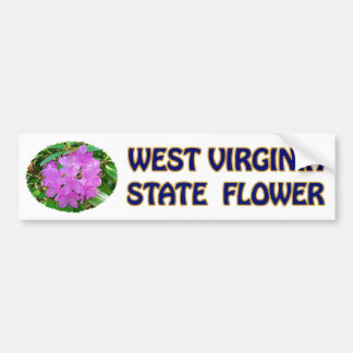 West Virginia State Flower Bumper Sticker