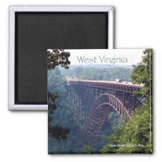 West Virginia State Travel Photo Fridge Magnet