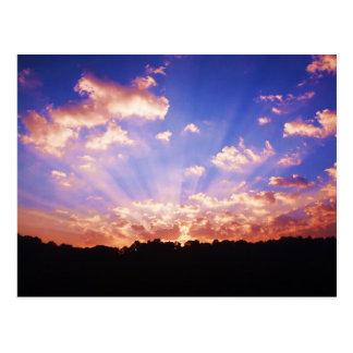 West Virginia Sunrise Postcard
