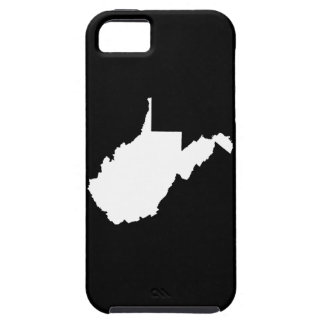 West Virginia White and Black Case For The iPhone 5