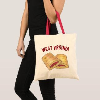 West Virginia WV Pepperoni Roll Snack Junk Food Tote Bag