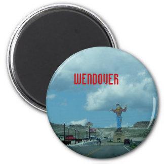 West Wendover 6 Cm Round Magnet