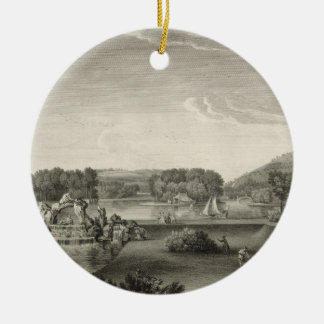 West Wycombe Park, engraved by William Woollett (1 Christmas Ornament