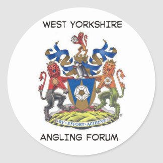 west yorkshire angling forum logo sticker