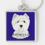 Westacular West Highland White Terrier! Key Chains