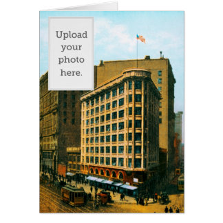 Westbank and Flood Buildings Greeting Card
