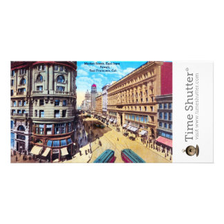 Westbank and Flood Buildings Customized Photo Card