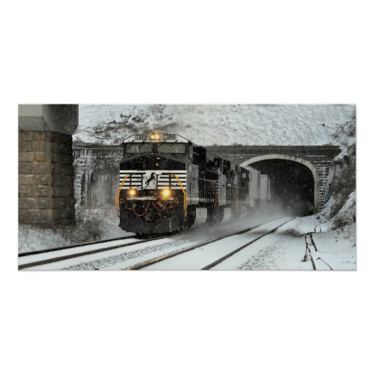 Westbound at Gallitzin Poster