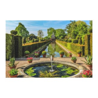 Westbury Garden Canvas Print