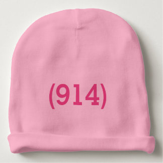 Westchester 914 baby girl hat baby beanie