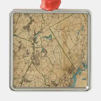 Westchester County, New York 2 Christmas Ornament