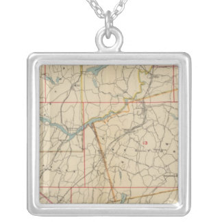 Westchester County, New York 2 Silver Plated Necklace