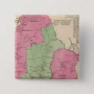 Westchester, NY 15 Cm Square Badge
