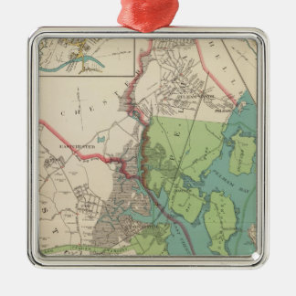 Westchester, Pelham towns Christmas Ornament