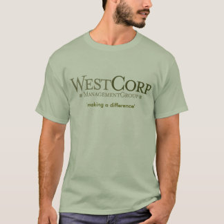 WestcorpLogo[1], 'making a difference' T-Shirt
