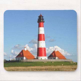 Westerhever Lighthouse Mouse Mat