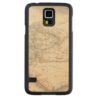 Western Africa 2 Carved Maple Galaxy S5 Case