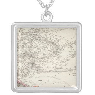 Western Africa 2 Silver Plated Necklace