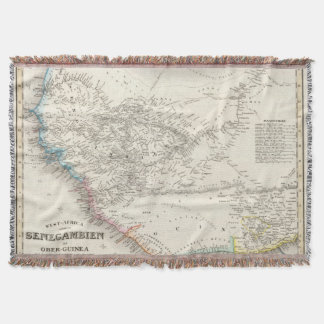 Western Africa 2 Throw Blanket