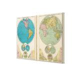 Western and Eastern Hemisphere Canvas Print