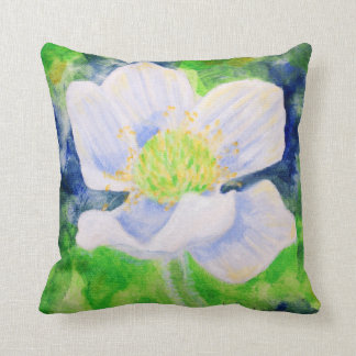 Western Anemone throw cushion
