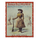 Western Annie Oakley Poster
