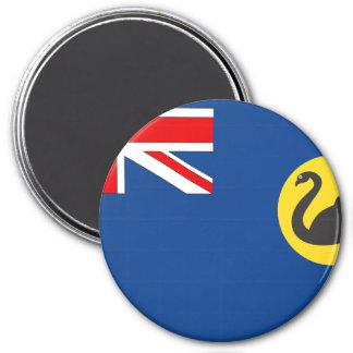 Western Australia 7.5 Cm Round Magnet