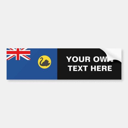 Western Australia Flag Bumper Sticker