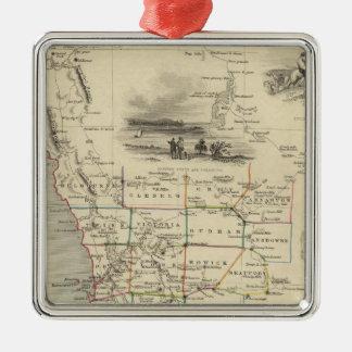 Western Australia, Swan River Christmas Ornament