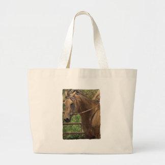 Western Buckskin Horse Tote Bag