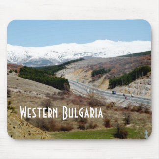 Western Bulgaria Mouse Pad