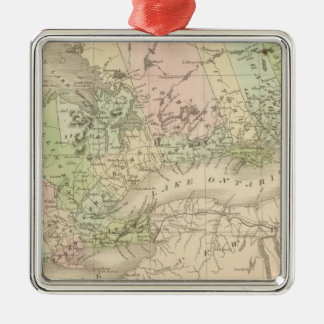 Western Canada Christmas Ornament
