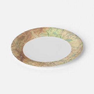 Western Canada Paper Plate