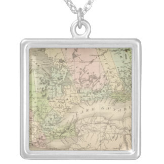 Western Canada Silver Plated Necklace