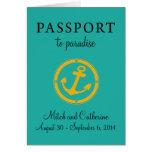 Western Caribbean Cruise Passport Wedding